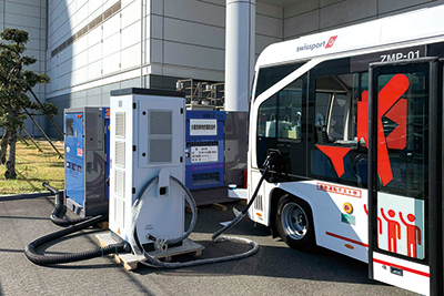 Narita International Airport Charging Project in Japan